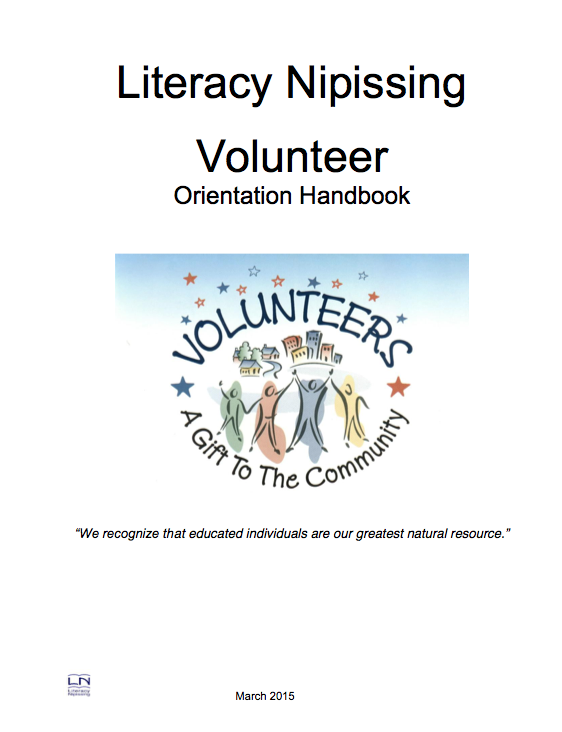 LN Volunteer Orientation Handbook