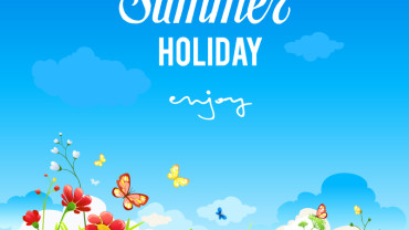 summer-holidays-natural-background-vector